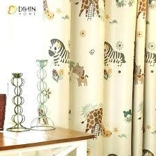 custom printed shower curtain custom printed curtains home cartoon zebra animal printed blackout curtains for custom