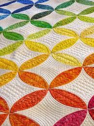 261 best Rainbow quilts images on Pinterest | Challenges, Drawings ... & Rainbow quilt, designed by Ellen Granda and Carol Swartz, quilted by: Donna  Derstadt Adamdwight.com