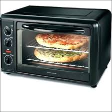 hamilton beach countertop oven with convection and rotisserie toaster black stainless steel 31100c sta