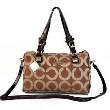 Coach In Monogram Medium Brown Luggage Bags CBQ