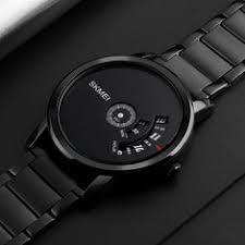 <b>New</b> SKMEI 1260 <b>Creative Watch</b> Luxury Male Stainless Steel Strap ...