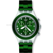 men s swatch full blooded green chronograph watch svck4043ag mens swatch full blooded green chronograph watch svck4043ag