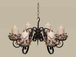 top 70 dandy outdoor candle chandeliers wrought iron non electric chandelier votive holders umbrella holder arm
