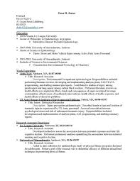 Cover Letter Chemistry Resume Examples Resume Examples For