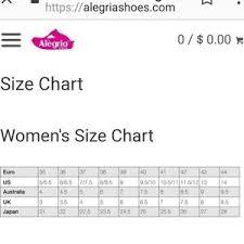 Alegria Size Chart Alegria Metallic Mary Janes Size 40
