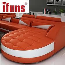 orange leather sofas black white modern quality leather shape inside orange leather sofa set