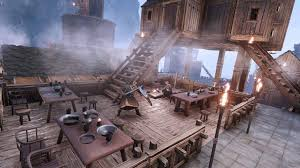 They can be used as servants, either working at crafting stations, as companions following the player or as lookouts guarding buildings. Entwickler Blog 16 Viel Spass Mit Dem Baumodus In Conan Exiles Conan Exiles