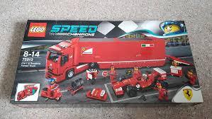 F14 t & scuderia ferrari truck set new in box sealed. Lego Speed Champions F14 T Scuderia Ferrari Truck 75913 Toys Games Bricks Figurines On Carousell