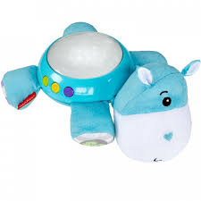 <b>Fisher Price Mattel</b> Плюшевая игрушка-<b>проектор</b> Бегемотик ...