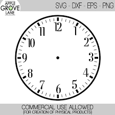 Clock faced on white background. Download Clock Numbers Png Png Gif Base