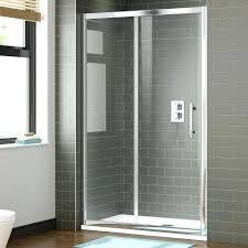 thick glass shower doors premium sliding shower door thick glass how thick should glass shower doors