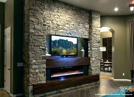 corner stone electric fireplace stacked stone electric fireplace faux