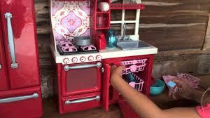 American Girl Doll Kitchen Haul Youtube