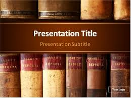 Powerpoint Background Book Download Vintage Books Powerpoint Template