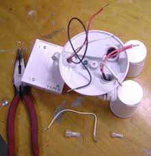 how to wire a motion activated floodlight an insteon in untwist and the wires