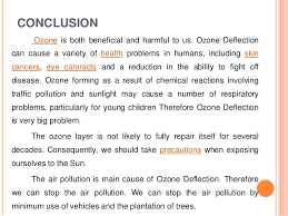 ozone depletion essay conclusion what can i write as a conclusion for a project on ozone layer