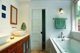 Sliding Pocket Doors Small Bathroom  Classy Door Design