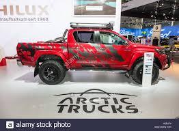 Toyota Hilux Arctic Trucks 4x4 pickup truck at the IAA 2016 Stock ...
