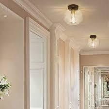dllt farmhouse semi flush mount ceiling