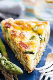 asparagus bacon quiche a dash of sanity
