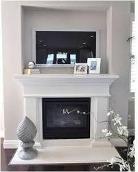tv above mantel