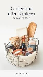Gorgeous Gift Baskets So Easy To Copy Itu0027s Ridiculous  Gift How To Make Hampers For Christmas Gifts