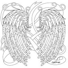 Angel Coloring Book Best Angels To Color Images On Books Welcome