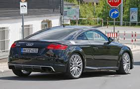 Audi TT RS (2016) to be available with a manual gearbox? by CAR ...