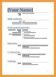 9 Blank Resume Template Resume Pdf