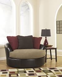 soulful decoration furniture oversized round swivel chairs