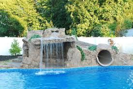 Tube Slide Waterfall For Backyard Hometalk