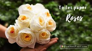Paper Flower Tissue Paper How To Make A Toilet Paper Rose So Quick And Realistic