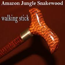 Walking Cane Decorations Woodcraft Snakewood Balance walking stick wood trekking hiking 52