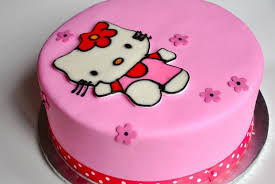 Cara Membuat Kue Ultah Hello Kitty Terbesar Dan Terbaru Menuresepkue