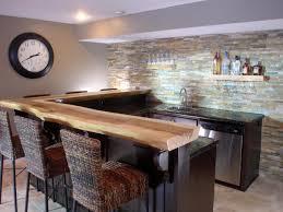 simple basement bar ideas
