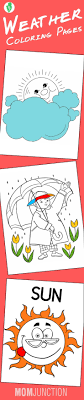 10 Amazing Weather Coloring Pages For