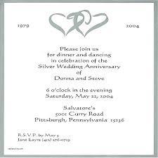 25th anniversary invitation card templates anniversary invitation card s design free template anniversary invitation card