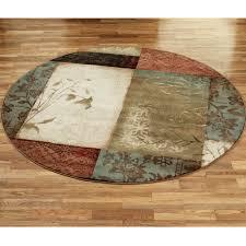 5 round outdoor rugs designs