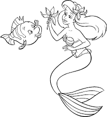 Coloriage Sirenes Coloriage Dessiner Barbie La Sirene Dessin Dessins De La Petite Sirene A Colorier Index Of L
