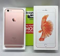 apple iphone 6s rose gold. apple iphone 6s plus 16gb rose gold for straight talk via at\u0026t 4g lte iphone