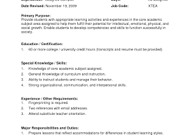 Cv Teacher Example Images Certificate Design And Template