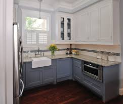 Pre Fab Kitchen Cabinets Prefab Cabinets Kitchen Eclectic With Apron Sink Beige Counter