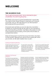 Basic Business Plan Outline Free Gratis Simple Business Plan Template