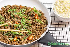 asian ground beef recipes. Beautiful Recipes Keto Ground Beef Recipe  Sticky Korean Stir Fry In Asian Recipes