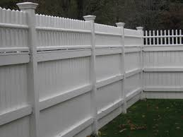 White Wood Fence Panels Outdoor Decorations