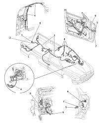 1997 dodge dakota wiring body accessories diagram 00i10559