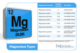 Magnesium Bioavailability Chart What Is The Best Magnesium Supplement Drjockers Com