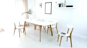 bedroom white modern dining set beautiful white modern dining set 26 chairs of 4 oak