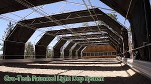 Automated Light Deprivation Gro Tech Systems Is A Fully Automated Light Light Deprivation Greenhouse System