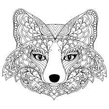 Redoubtable Disegni Da Colorare Mandala Animali Per Adulti Justcolor